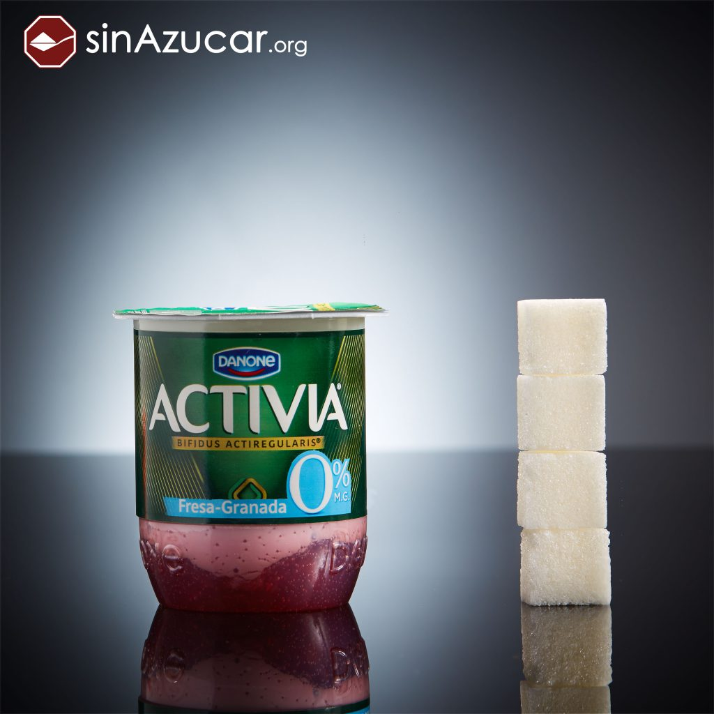 azúcar yogur 0%